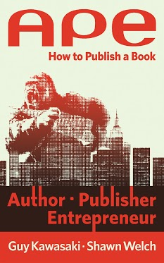 Getting books published with APE: Author, Publisher, Entrepreneur