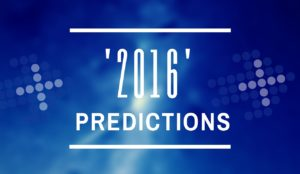 My predications for 2016